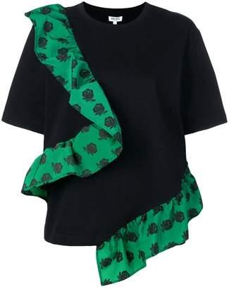 Kenzo ruffle structure T-shirt