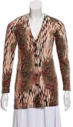 Diane von Furstenberg Printed Wool Cardigan