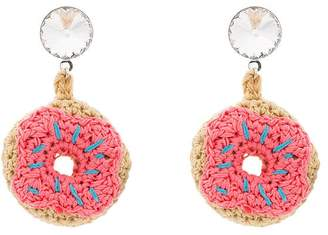 Venessa Arizaga doughnut earrings