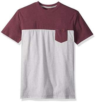 Quiksilver Men's Block Pocket Tee Short Sleeve Knit