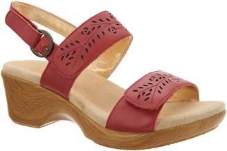 Alegria Leather Adjustable Double Strap Sandals - Romi