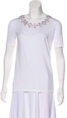 Michael Kors Embellished Short Sleeve T-Shirt