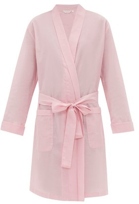 Derek Rose Amalfi 1 Cotton Robe - Womens - Pink