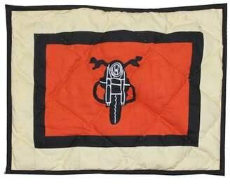 Patch Magic Motor Cycle Crib Cotton Throw Pillow Patch Magic