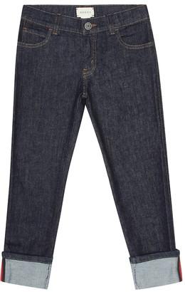 Gucci Kids Cotton jeans