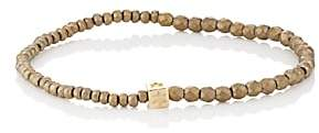 Luis Morais Men's Beaded Bracelet - Gold