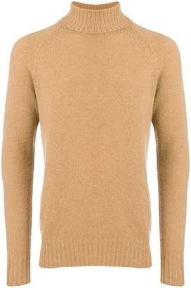 Drumohr roll-neck fitted sweater