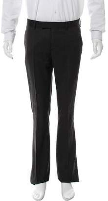 Christian Dior 2006 Flat Front Wool Pants