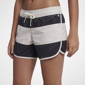 "Hurley Paneled Wash Beachrider Womens 5"" Board Shorts"