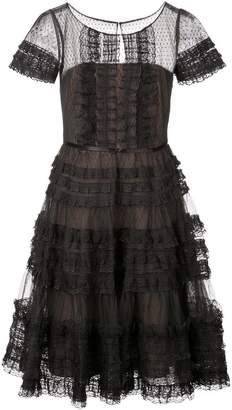 Marchesa A-line dress
