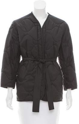 Nili Lotan Quilted Oversize Jacket