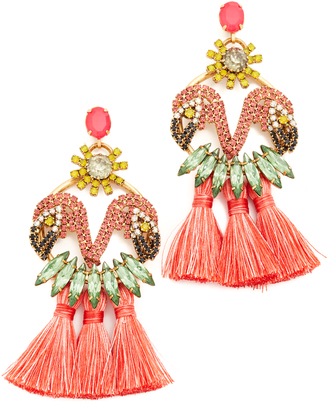 Elizabeth Cole Marina Earrings $348 thestylecure.com