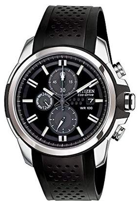 Citizen Men's Drive from Eco-Drive AR 2.0 Stainless Steel Chronograph Watch