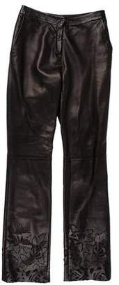 Gianni Versace Vintage Leather Pants