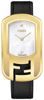 Fendi Chameleon Buckle-Case Watch