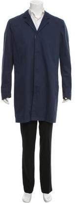 Rag & Bone Woven Notch-Lapel Coat