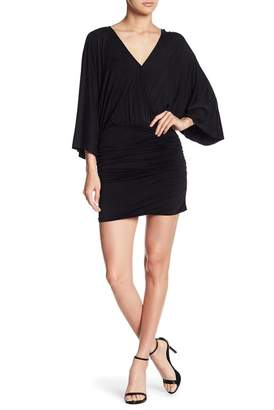 Young Fabulous & Broke YFB by Open Back Ruched Mini Dress