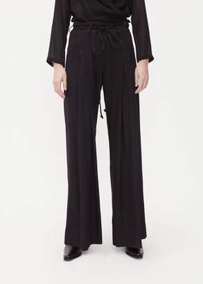Ann Demeulemeester Wide Leg Belted Trouser