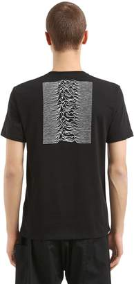 Raf Simons Joy Division Cotton Jersey T-Shirt