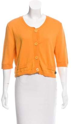See by Chloe Cropped Cotton Cardigan