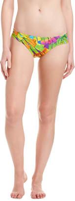 Trina Turk Polynesian Shirred Hipster Bottom