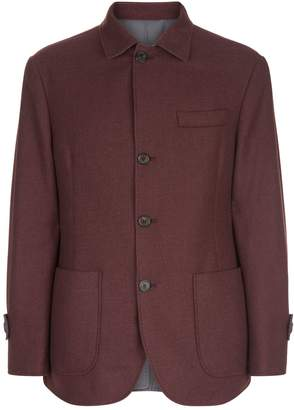 Brunello Cucinelli Reversible Cashmere Jacket