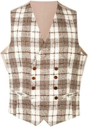 Tagliatore Klaus double-breasted waistcoat