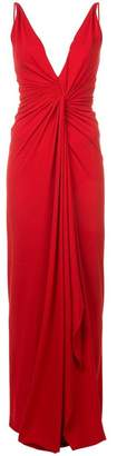 Alexandre Vauthier ruched waist gown