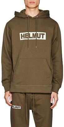 Helmut Lang Men's Logo Cotton Jersey Hoodie