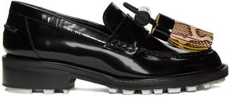 Kenzo Black Tassel Loafers $480 thestylecure.com