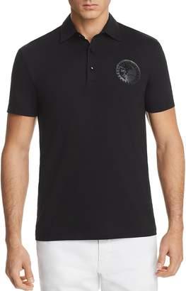 Versace Jersey Regular Fit Polo Shirt