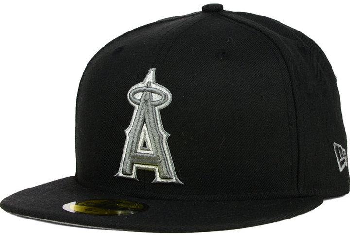New Era Los Angeles Angels of Anaheim Black Graphite 59FIFTY Cap