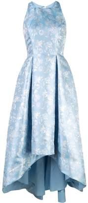 Aidan Mattox floral print full skirt dress