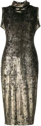 Antonio Marras turtle neck tubular dress