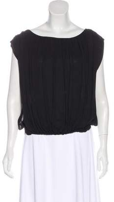 Alice + Olivia Silk Sleeveless Blouse