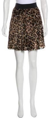Alice + Olivia Printed Mini Skirt