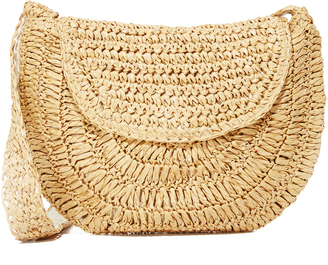 Hat Attack Small Saddle Bag $80 thestylecure.com
