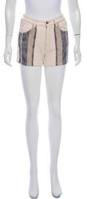 Chloé High-Rise Tweed Shorts