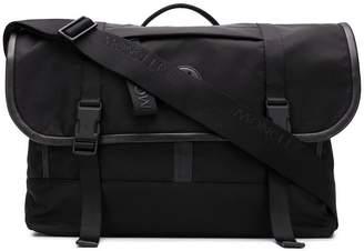 Moncler leather trim messenger bag