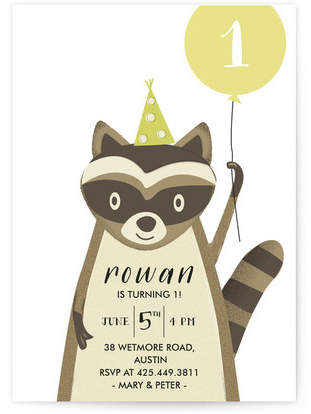 Big Party Children's Birthday Party Invitations