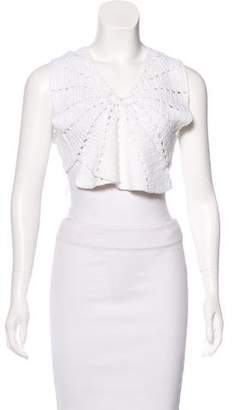 Alice McCall Knit Crop Top