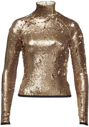 Stella Jean Sequin Long Sleeved Top