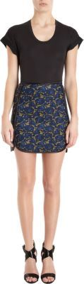 Cynthia Rowley A-line Skirt in Lace Print