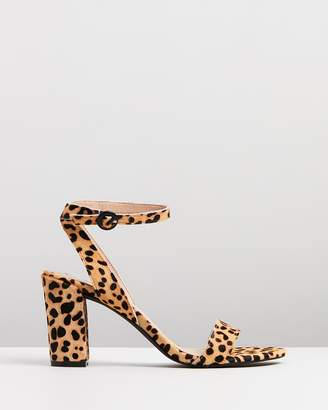 Atmos & Here ICONIC EXCLUSIVE - Darcy Block Heels