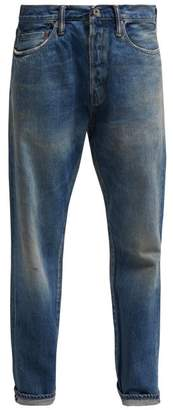 Chimala Selvedge Straight Leg Jeans - Womens - Denim