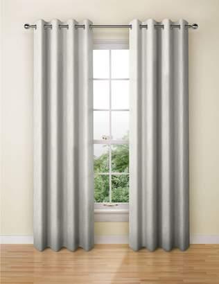 Marks and Spencer Lustre Jacquard Eyelet Curtains