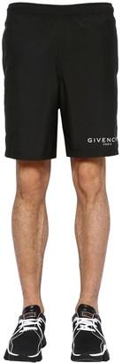 Givenchy Logo Detail Nylon Swim Shorts