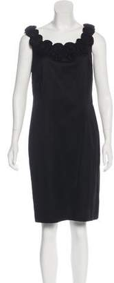 Lafayette 148 Scoop Neck Knee-Length Dress