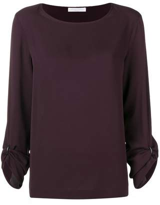 Fabiana Filippi rolled up sleeves blouse