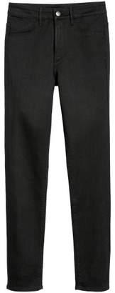 H&M Skinny High Ankle Jeans - Black